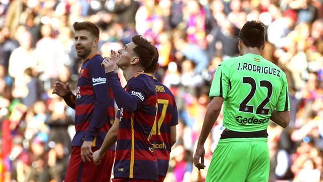 Paulinho salvó a Barcelona de un empate ante Getafe