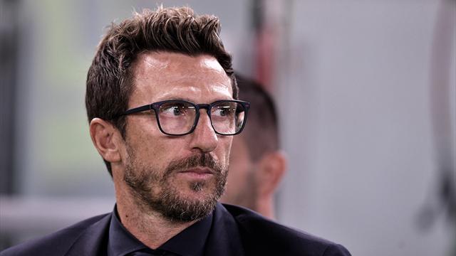 """Di Francesco: """"Florenzi ed El Shaarawy dal 1', Dzeko ha sbagliato"""""""