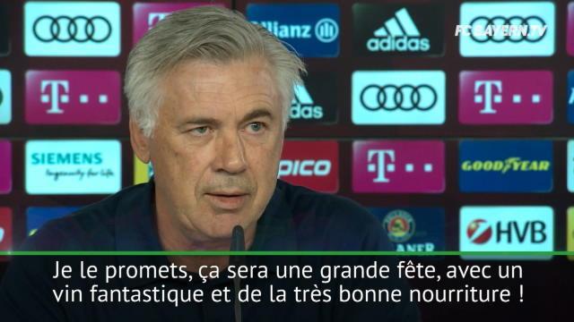 Face aux haters, Ancelotti a la solution : un grand banquet pour parler tactique !