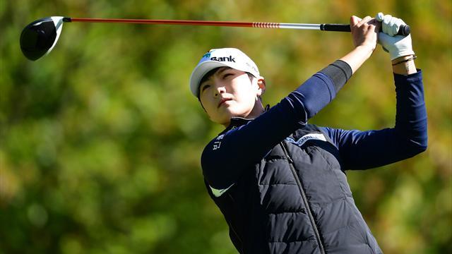 Evian Championship : Park Sung-hyun seule en tête
