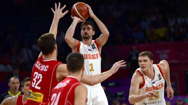 Rusia, rival de España por el bronce, Serbia-Eslovenia final del Eurobasket (79-87)