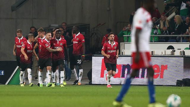 2:0-Sieg gegen den HSV: Aufsteiger Hannover 96 grüßt von der Spitze