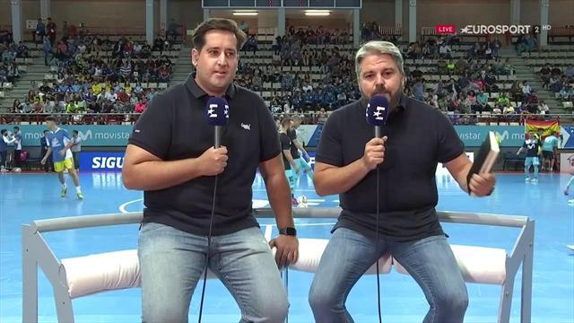 Vídeo en directo: El pospartido Eurosport del Movistar-Inter Peñíscola