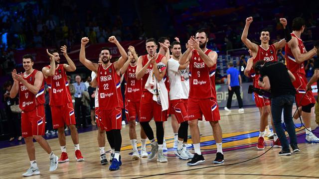 Djordjevic mit Serbien im EM-Finale