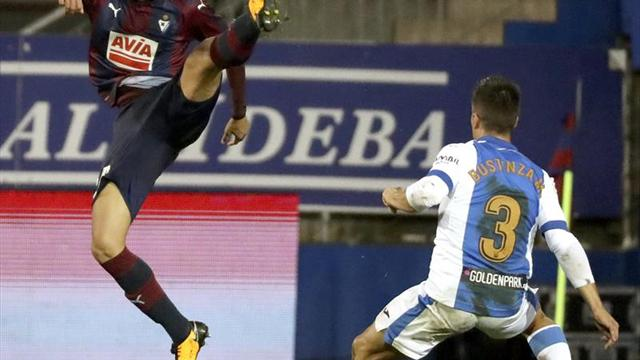 1-0. El Eibar consigue una victoria balsámica
