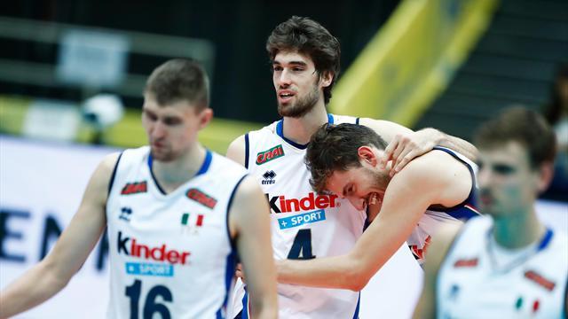 L'Italia surclassa la Francia, il podio della Grand Champions Cup è più vicino