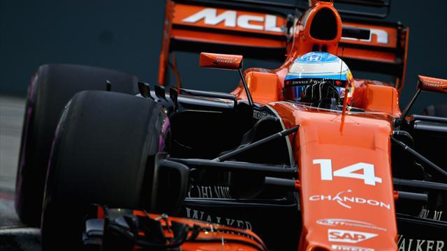 Fernando Alonso, décimo en la pole 70 de Lewis Hamilton