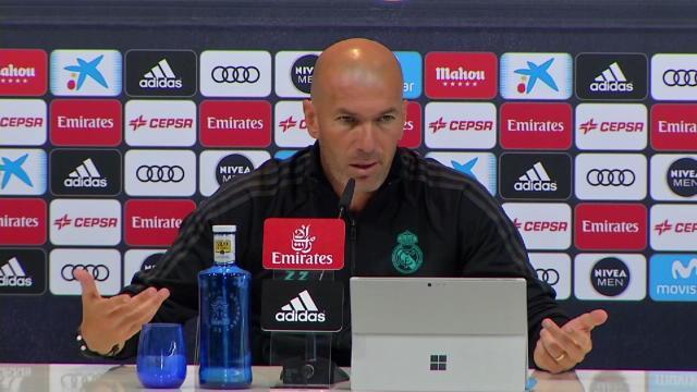 """Zidane : """"L'absence de Ronaldo, un mal pour un bien"""""""
