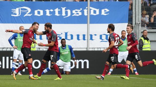 2. Liga: Kantersiege für Nürnberg und Ingolstadt