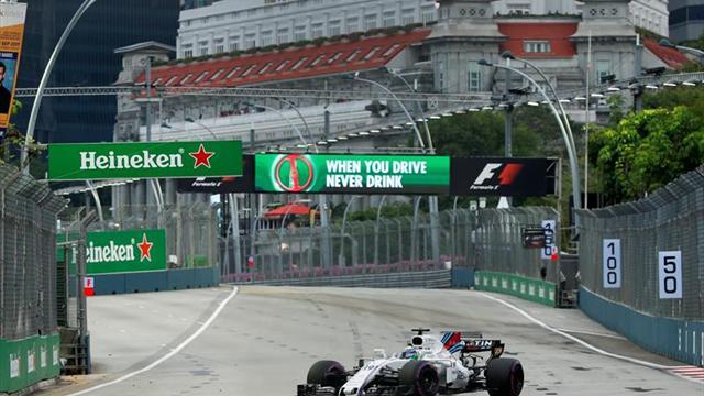 Massa, eliminado en la primera ronda de clasificación (Q1) en Singapur
