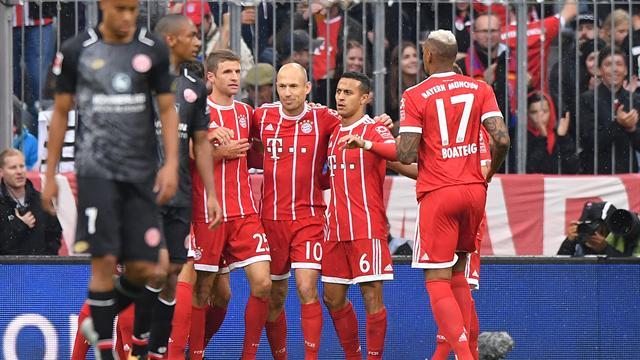 Tor-Show zum Wiesn-Auftakt: FC Bayern schenkt Mainz ordentlich ein