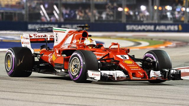 Vettel rast zur Pole in Singapur