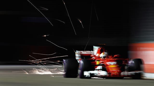 """Vettel in estasi: """"Io e la Ferrari siamo stati straordinari, ci aspetta una gara serrata"""""""
