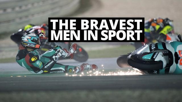 Motorbike riders - the toughest, bravest men in sport