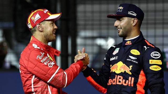 Singapore Grand Prix qualifying: Vettel on pole for night race