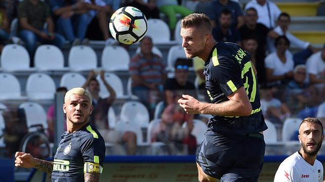 L'Inter a pris son temps pour s'accrocher à la tête, la Roma se réveille