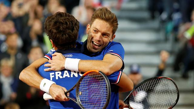 Mahut and Herbert put France ahead in Davis Cup semi-final