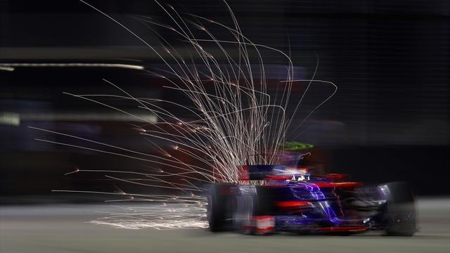 Fórmula 1, GP de Singapur: Triunfo de Hamilton, drama en Ferrari y Sainz brilla bajo el agua