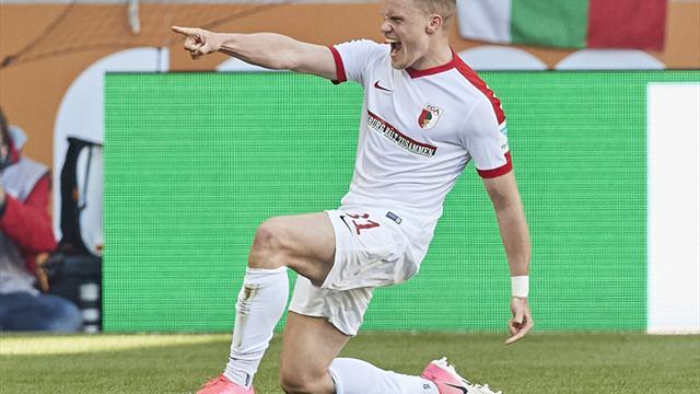 Sieg in Frankfurt: Augsburg beendet den Eintracht-Fluch