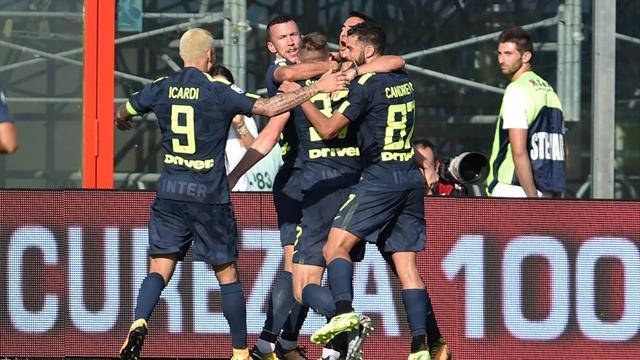 Skriniar-Perisic: l'Inter beffa il Crotone e fa 4 su 4!