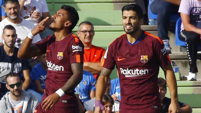 Barcelona, Paulinho ile hayata döndü