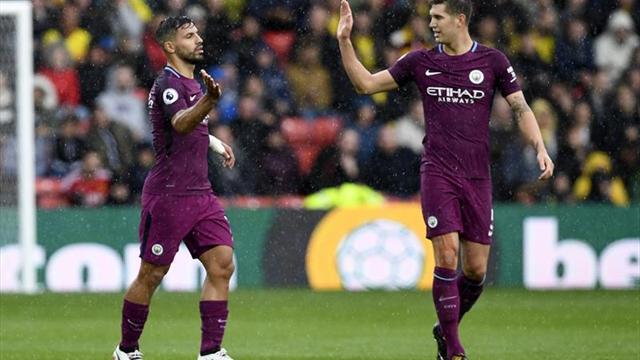 El Manchester City se divierte en Watford (0-6)