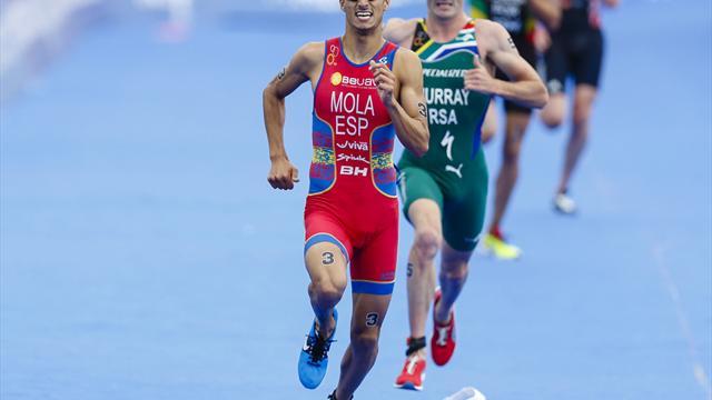 Triathlon: Mola und Duffy verteidigen WM-Titel