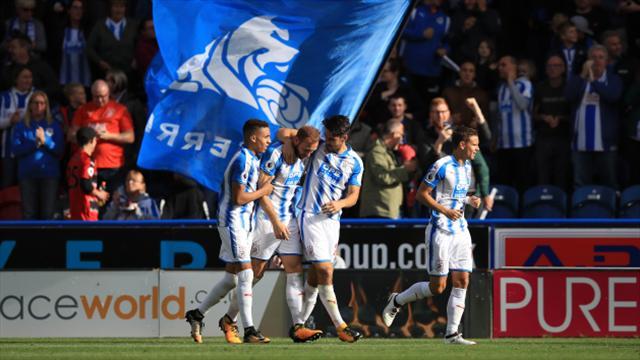 Depoitre opens Premier League account for Huddersfield