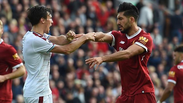 Il Burnley è un osso durissimo per il Liverpool: finisce 1-1 ad Anfield