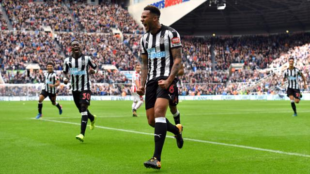 Lascelles bags winner for second time in a week as Newcastle defeat Stoke