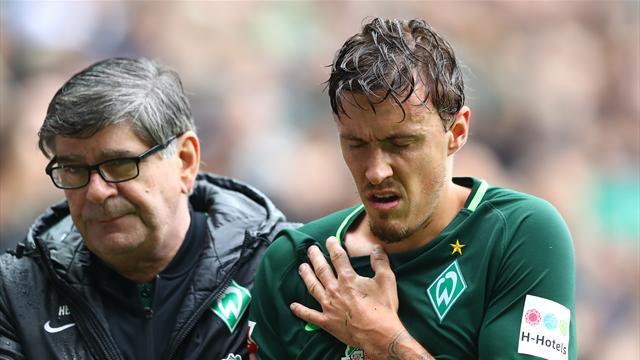 Lange Pause: Schlüsselbeinbruch bei Werder-Profi Kruse
