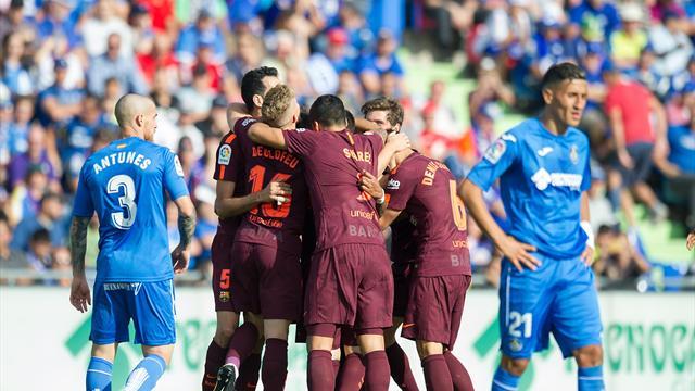 Barcelona remonta y mantiene puntaje perfecto en España