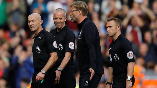 Klopp laments draw: 'Liverpool need the referee to make the right decisions'
