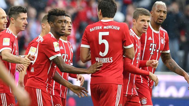 Bundesliga: Bayern zum Wiesn-Auftakt souverän - Hannover weiter vorn, Leipzig 2:2 gegen Gladbach