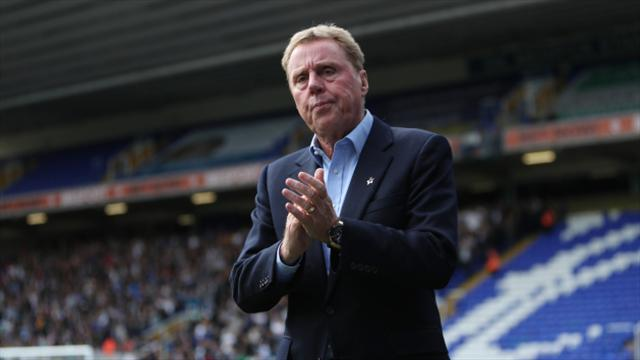 Harry Redknapp parts company with Birmingham after 13 games in charge