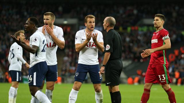 Tottenham held to frustrating draw by Swansea as Wembley woes return