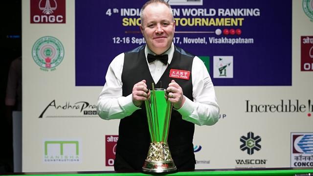 Хиггинс выиграл Indian Open и обошел О'Салливана по количеству рейтинговых побед