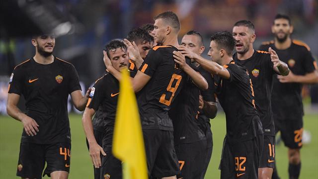 La Roma danza sotto il diluvio e sui resti del Verona: 3-0 agevole, gran ritorno di Florenzi