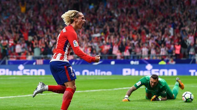 Du droit, Griezmann s'offre le premier but du nouveau stade de l'Atlético