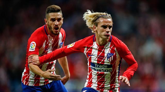 Griezmann buteur, l'Atlético vainqueur : inauguration réussie pour le Wanda Metropolitano