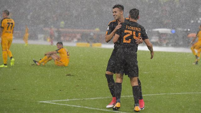 Le pagelle di Roma-Hellas Verona 3-0: grandi prove di Pellegrini e Florenzi