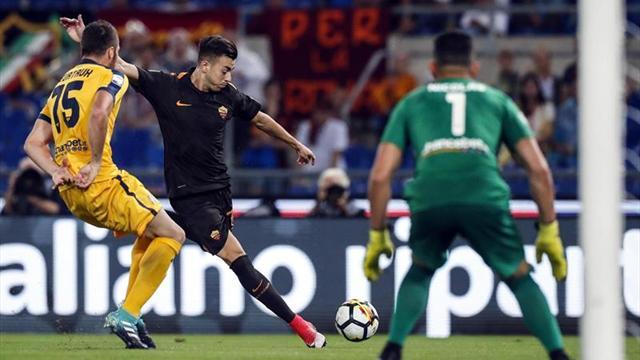 El Roma golea 3-0 al Hellas Verona y se reencuentra con el triunfo