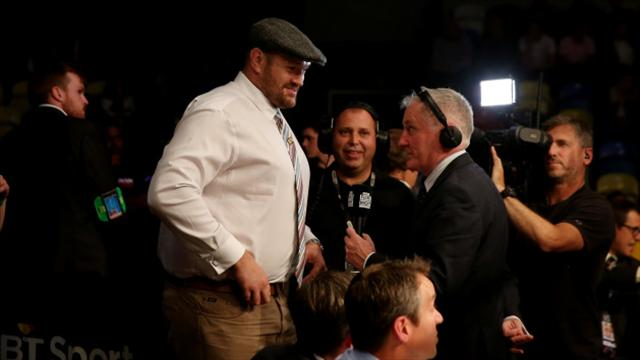 Tyson Fury eyes route back to the ring