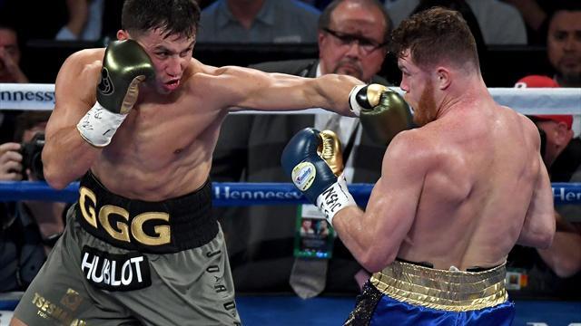 Mega-Fight in Las Vegas: Unentschieden zwischen Alvarez und Golowkin