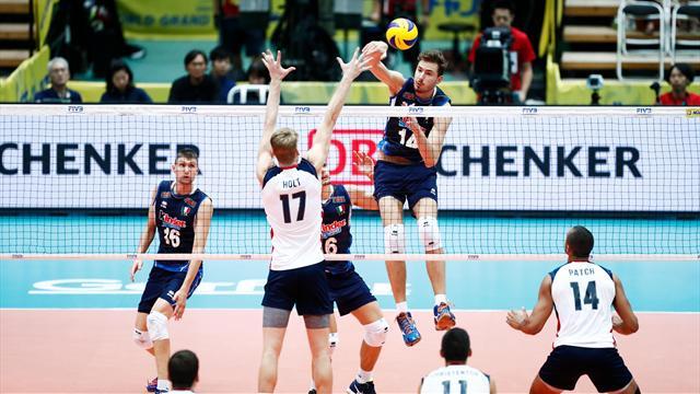 Le pagelle di Italia-USA 3-1: Lanza trascinatore, Vettori e Antonov sul pezzo, Giannelli gestisce