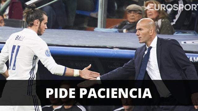 Zidane pide paciencia al madridismo con Gareth Bale