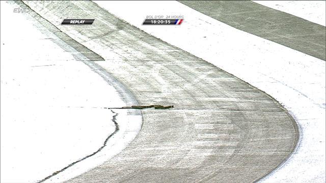 Bol d'Or 2017: Una cadena salió disparada de una Suzuki rodando por la pista