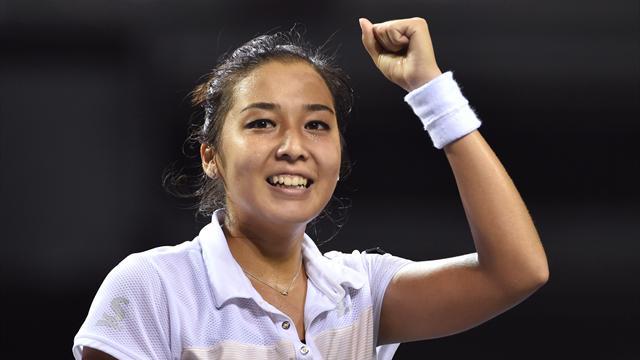 WTA-Tour: Erster Turniersieg für Kasachin Dijas