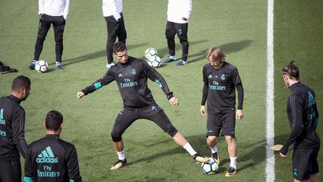 El Real Madrid viaja a San Sebastián con seis bajas y Franchu en la convocatoria