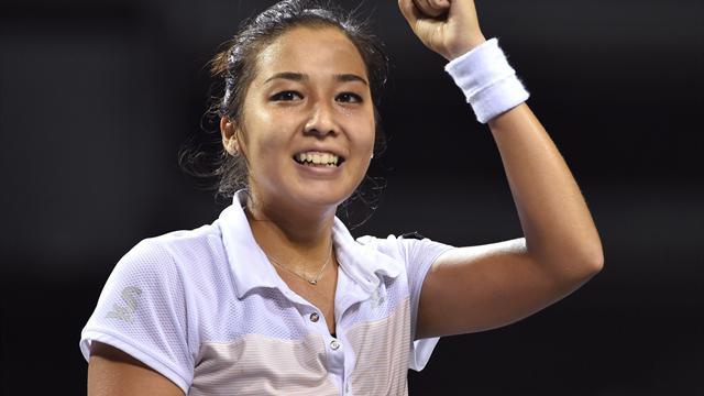 Kasachin Dijas feiert ersten Turniersieg auf der WTA-Tour